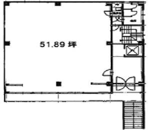 理工図書ビル 2階図面 ワンプラスワン