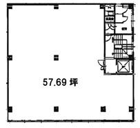 理工図書ビル 5階図面 ワンプラスワン
