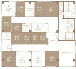 理工図書ビル レンタルオフィス区画