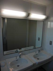 トイレ鏡 理工図書ビル ワンプラスワン
