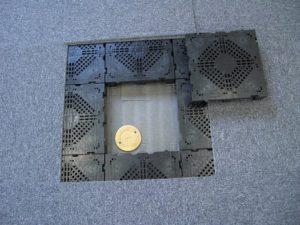 導入OAフロア5mm 理工図書ビル ワンプラスワン