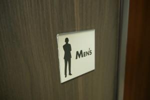 トイレ男子